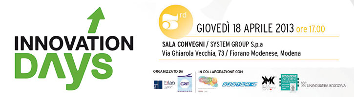 Innovation Days 3 – Open Innovation - Open Innovation per massimizzare le capacità innovative e competitive delle imprese