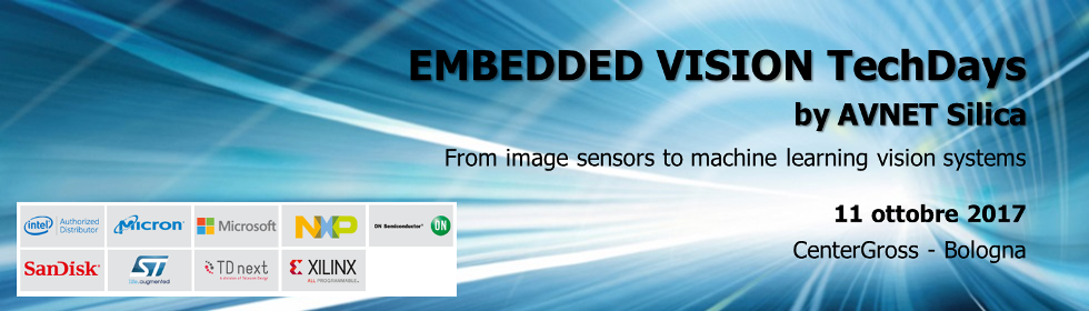 Embedded Vision TechDays by AVNET Silica