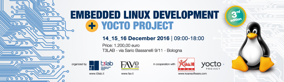 Embedded Linux Development and YOCTO project