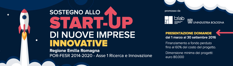 Start up innovative 2016 Emilia-Romagna