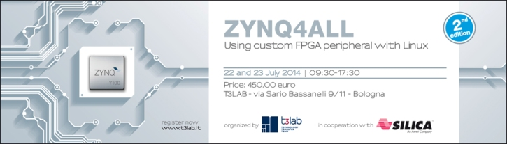 ZYNQ4ALL – 2nd Edition - Using custom FPGA peripheral with Linux