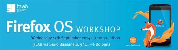 Firefox OS workshop - Develop your first app on Firefox OS