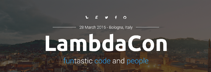 LambdaCon 2015 - funtastic code and people