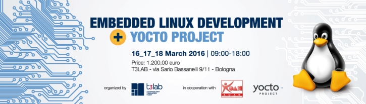 Embedded Linux Development and YOCTO project | T3LAB
