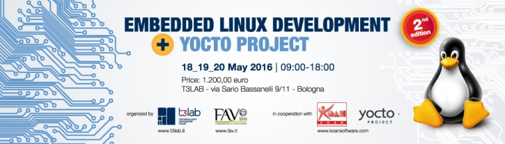 Training Linux embedded and Yocto Project