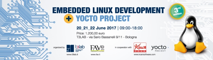 Embedded Linux Development and YOCTO project – 3rd edition